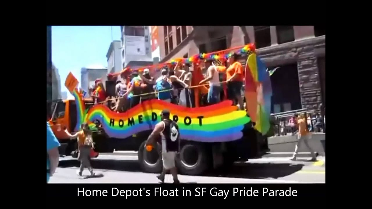 Really. And Home depot homosexual depot