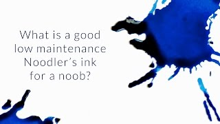What Is A Good Low Maintenance Noodler