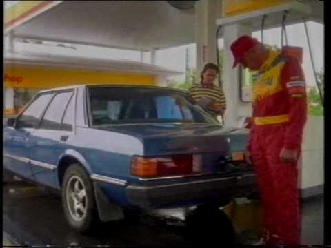 Shell Australia commercial 1995 with  Barry Sheene & Dick Johnson