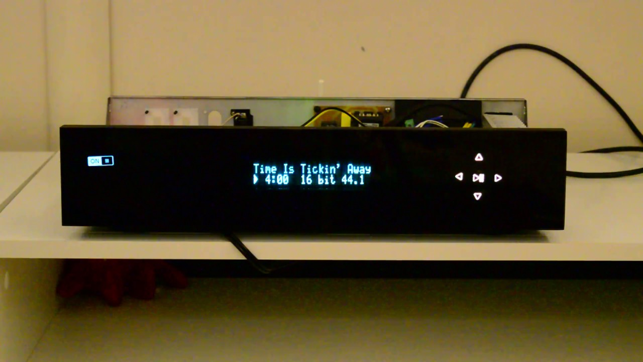 DIY Volumio standalone music player with remote control