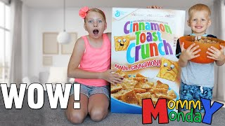 World's Largest Cereal Box || Mommy Monday