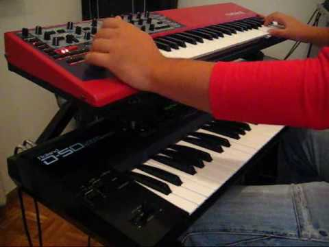 Nord Lead 2X and Roland D-50