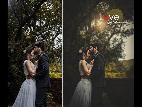 Photoshop CC Tutorial : How To Edit Cinematic Pre Wedding Photo