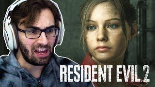 RESIDENT EVIL 2 Remake | Claire 2a Jornada #6 - O Caminho Aos Esgotos (Gameplay Português PT-BR)