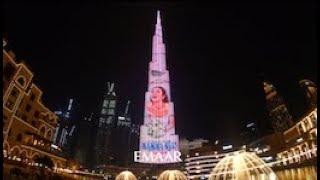 MAMMA MIA Live on Burj Khalifa