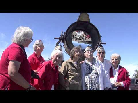 Mount Diablo Beacon Lifting 2013 Beacon Mirror Photo Op (part 2)