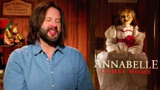 ANNABELLE COMES HOME Gary Dauberman Interview (2019)
