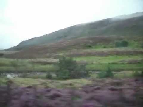 Scotland. Train From Inverness to london