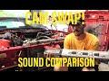 Comp Cams Thumpr Vs. Xtreme Cam Sound Comparison