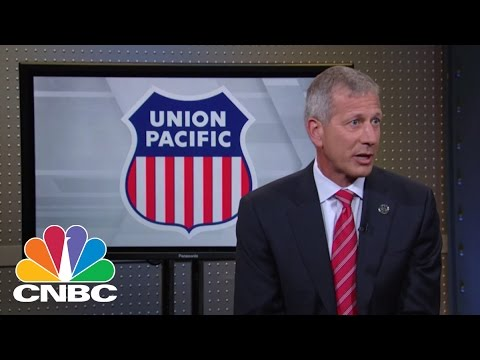 Union Pacific Corp CEO Lance Fritz: Getting Back On Track | Mad Money | CNBC