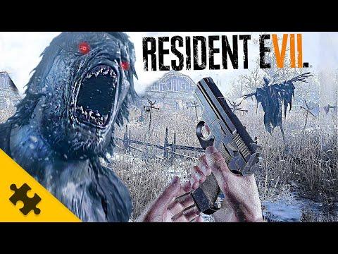 RESIDENT EVIL 8 – геймплей ПОДРОБНОСТИ. СЮЖЕТ, Крис Редфилд. ВЕДЬМА, ОБОРОТЕНЬ (Вся инфа RE VILLAGE)