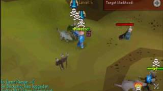 Runescape - Skulling trick - Losing 20M in BH!