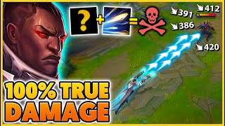 THIS MAKES LUCIAN DEAL TRUE DAMAGE (SECRET SYNERGY) - BunnyFuFuu | League of Legends