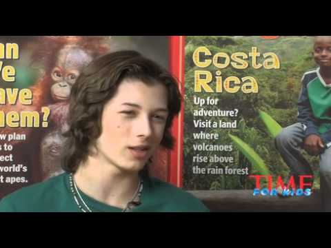 Leo Howard:Time for Kids Interview
