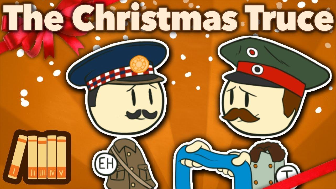 Ww2 Christmas Day.Ww1 Christmas Truce Silent Night Extra History 1