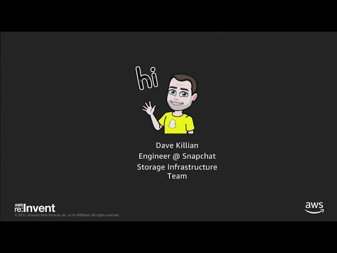 AWS re:Invent 2017: Snapchat Stories on Amazon DynamoDB (DAT325)