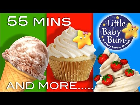 Food Songs | And More Nursery Rhymes | 55 Minutes Compilation from LittleBabyBum!