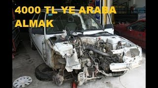 4000 TL YE ARABA ALMAK  BROADWAY ALDIK