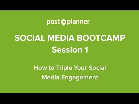 Social Media Training for All - How to Triple Your Social Media Engagement