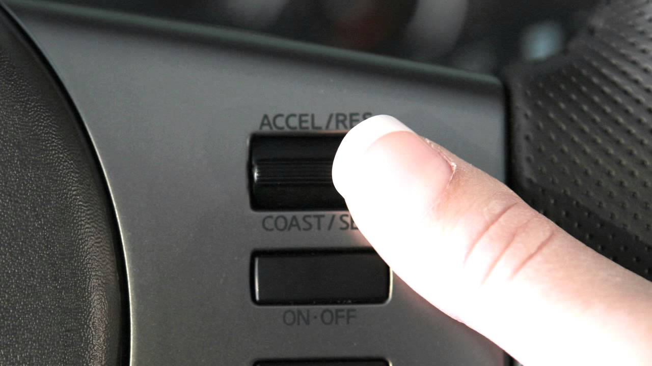 nissan frontier cruise control youtube