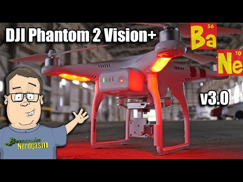 DJI Phantom 2 Vision+ v3.0 Drone Unboxing & Review w/ Ground