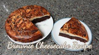 브라우니 치즈케이크 만들기_ 10번 넘게 만든 레시피_…