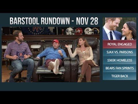 Barstool Rundown  - November 28, 2017