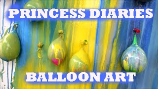 Princess Diaries Balloon Art Youtube