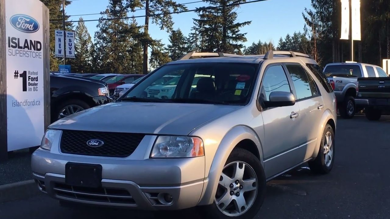 2006 ford freestyle limited awd dvd review island ford youtube