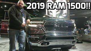 2019 Ram 1500 REVIEW and WALKAROUND!!