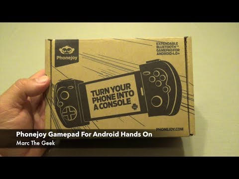Phonejoy Gamepad  For Android Hands On