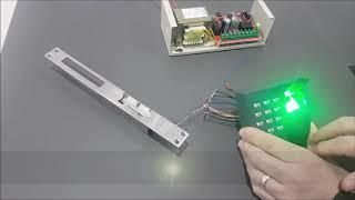 Marelli parmak izli ve şifreli geçiş ünitesinin programlaması ve montajı nasıl yapılır? Video