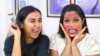 Prajakta Koli Does My Makeup? | Shruti Arjun Anand