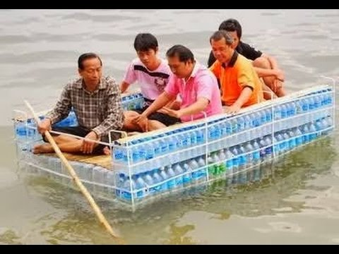 how to make boat from plastic bottle - YouTube