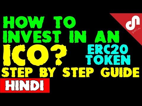 How to invest in an ICO? Step By Step Procedure to Invest in ERC20 ARNA Token   [Hindi / Urdu]