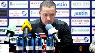 Роман Санжар: «Задоволений самовіддачею, сьогодні на полі була команда»