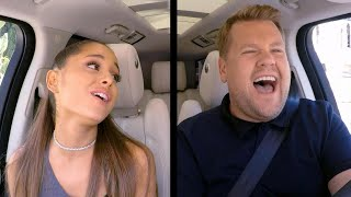'Carpool Karaoke': Watch Ariana Grande Flawlessly Belt Her Biggest Hits!