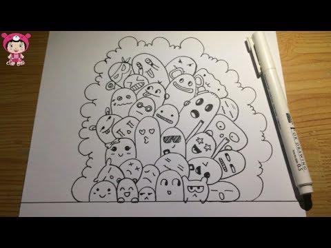 [Emotions doodles] Hướng dẫn vẽ những biểu hiện cảm xúc cơ bản
