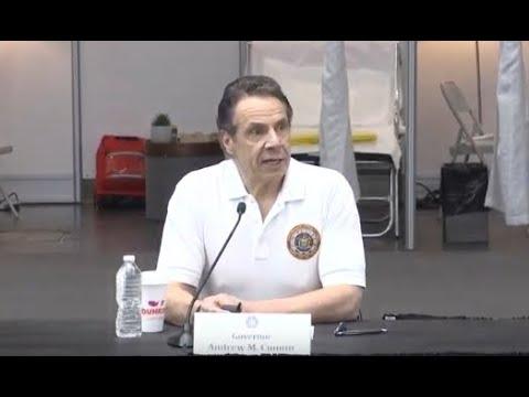 WATCH LIVE: New York Gov. Cuomo provides a coronavirus update