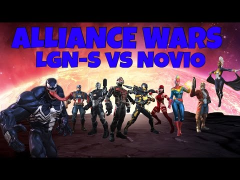 Marvel Contest of Champions 1st Alliance War