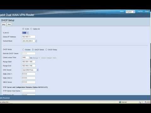 RV320 and RV325 VLAN Configuration - YouTube