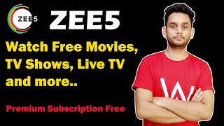 Learn How to get zee5 subscription | Simple tutorial to learn How to get zee5 subscription
