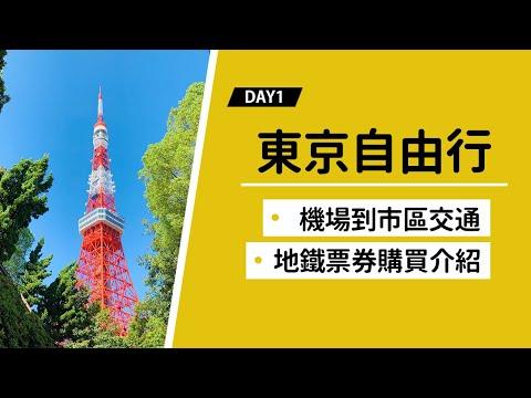 【東京自由行Day1】旅行綱要:成田機場到東京市區上野、日暮里交通攻略!捷運3日票教學!東京飯店推薦!(交通 教學 美食