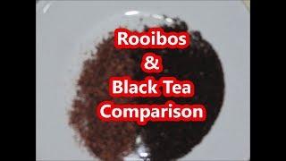 South African Tea Review:  Rooibos & Black Tea Comparison