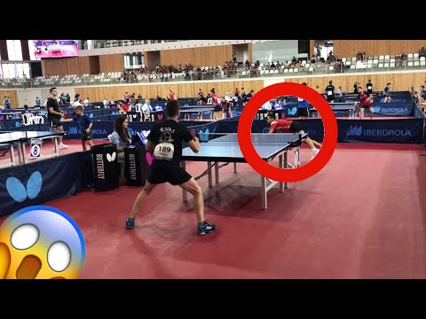 ⛔️ The Most Dangerous Points of Table Tennis 2019