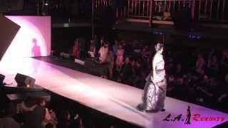 shekhar rahate hits the runway at la runway 2013 la fashion week 2013