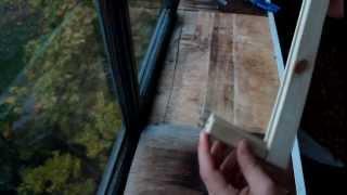 Как сделать светильник своими руками? How to do the lamp?(В этом видео я покажу как сделать простую но довольно оригинальную лампу для комнаты., 2013-11-27T21:07:14.000Z)