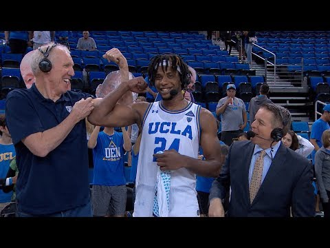 UCLA's Jalen Hill On Strong Second Half