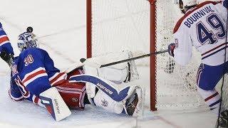NHL Goalies Cartwheel Saves