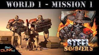 Z: Steel Soldiers - Campaign - World 1 / Mission 1 - Trigger Happy
